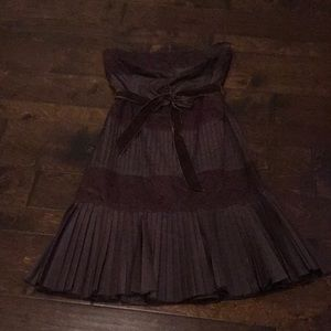 VGUC chocolate brown semi-formal dress!